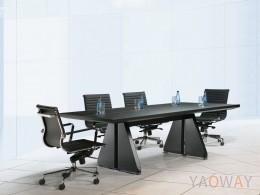 DS-L9063會議桌(馬鞍皮面)